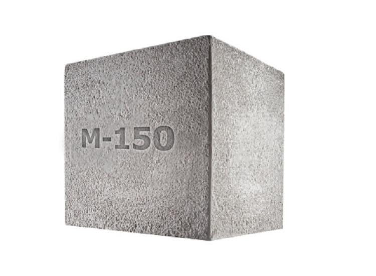 за квадрат бетона